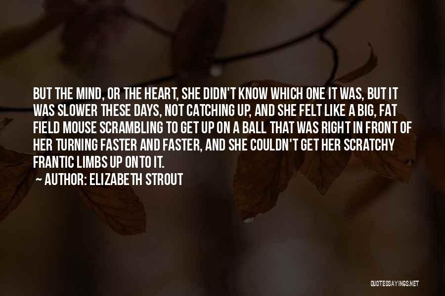 Field Mouse Quotes By Elizabeth Strout