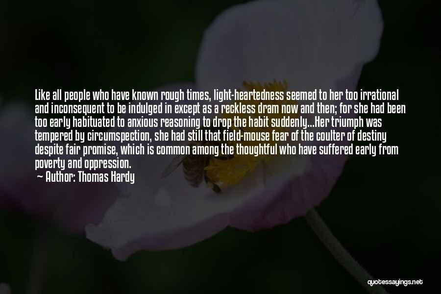 Field Mouse Quotes By Thomas Hardy