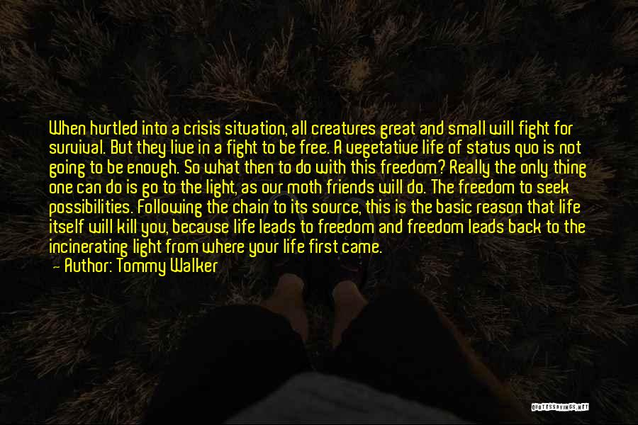 Fight For Your Friends Quotes By Tommy Walker