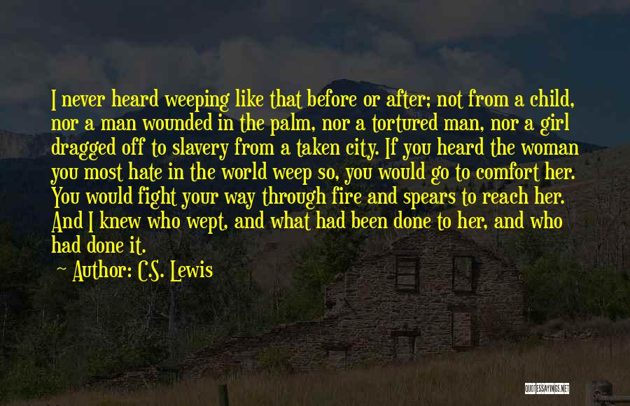Fight Through The Pain Quotes By C.S. Lewis