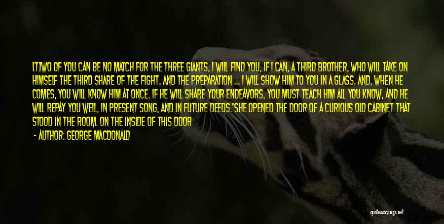 Fight Through The Pain Quotes By George MacDonald