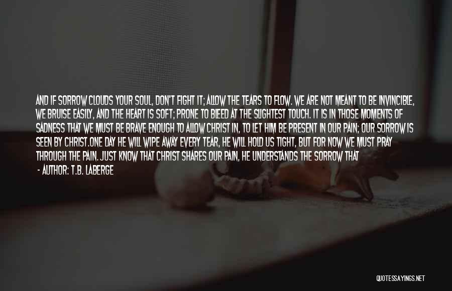 Fight Through The Pain Quotes By T.B. LaBerge