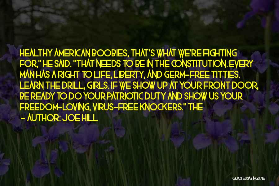 Fighting But Loving Quotes By Joe Hill