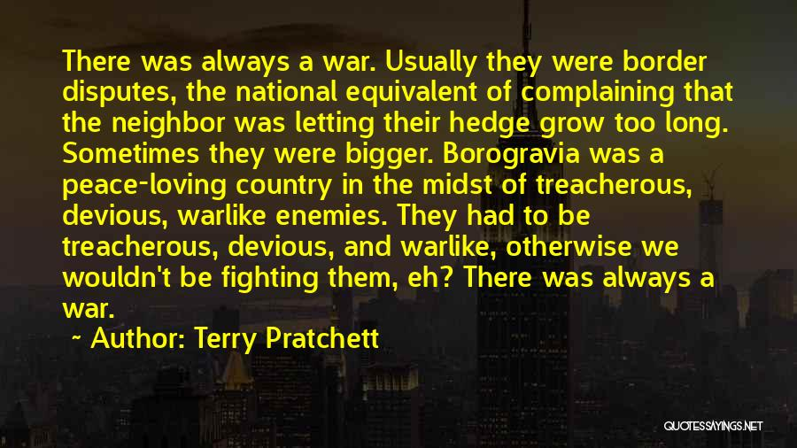 Fighting But Loving Quotes By Terry Pratchett