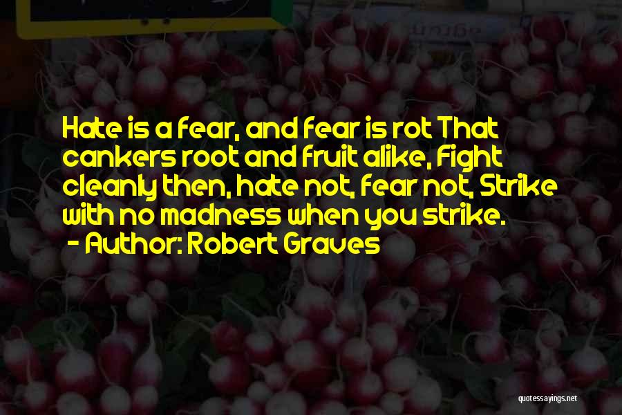 Fighting Fear Quotes By Robert Graves