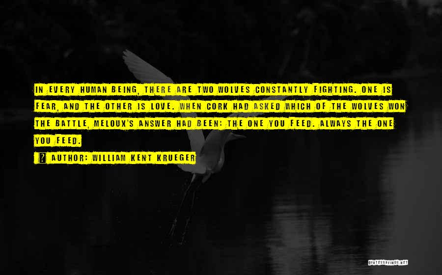 Fighting Fear Quotes By William Kent Krueger