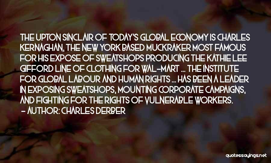 Fighting For Rights Quotes By Charles Derber