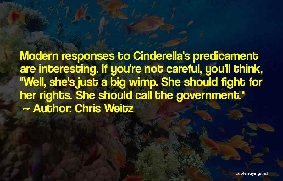 Fighting For Rights Quotes By Chris Weitz