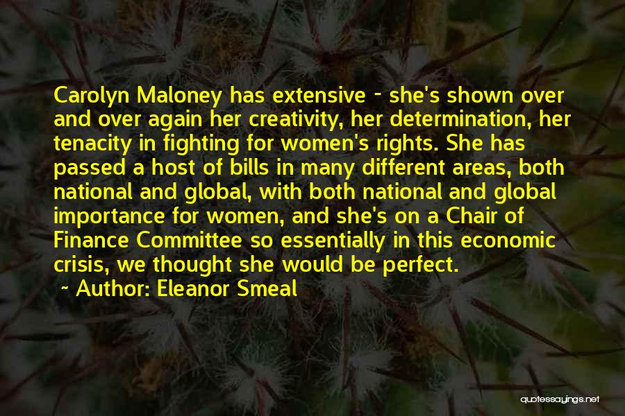 Fighting For Rights Quotes By Eleanor Smeal