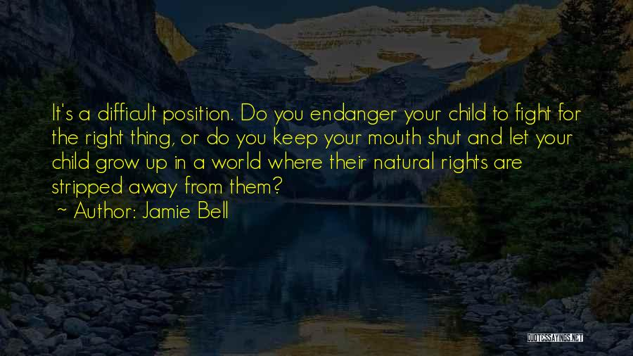 Fighting For Rights Quotes By Jamie Bell