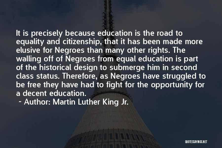 Fighting For Rights Quotes By Martin Luther King Jr.