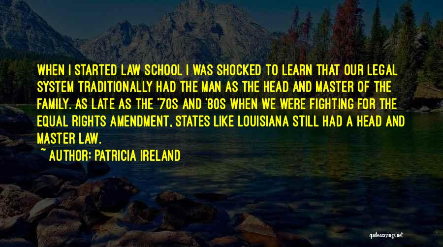 Fighting For Rights Quotes By Patricia Ireland
