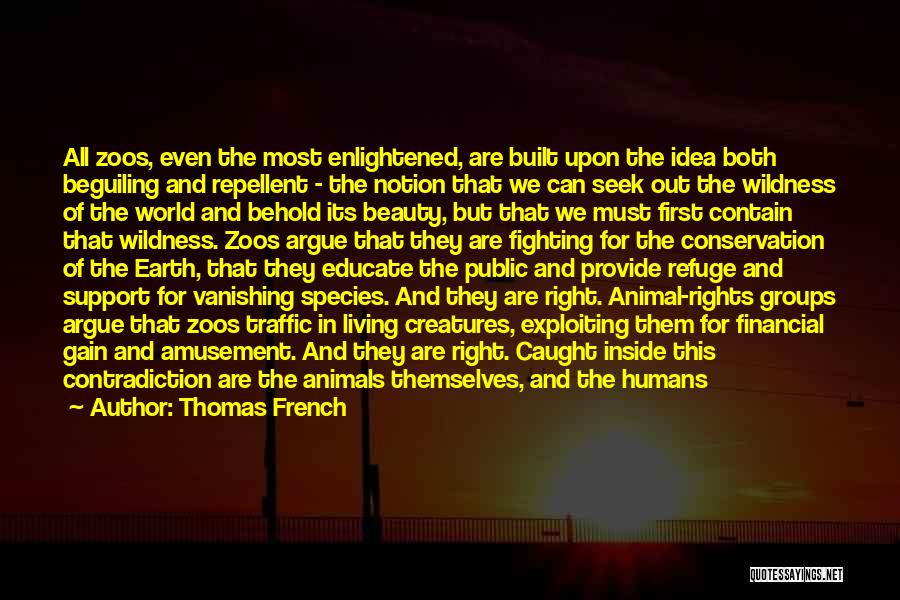 Fighting For Rights Quotes By Thomas French