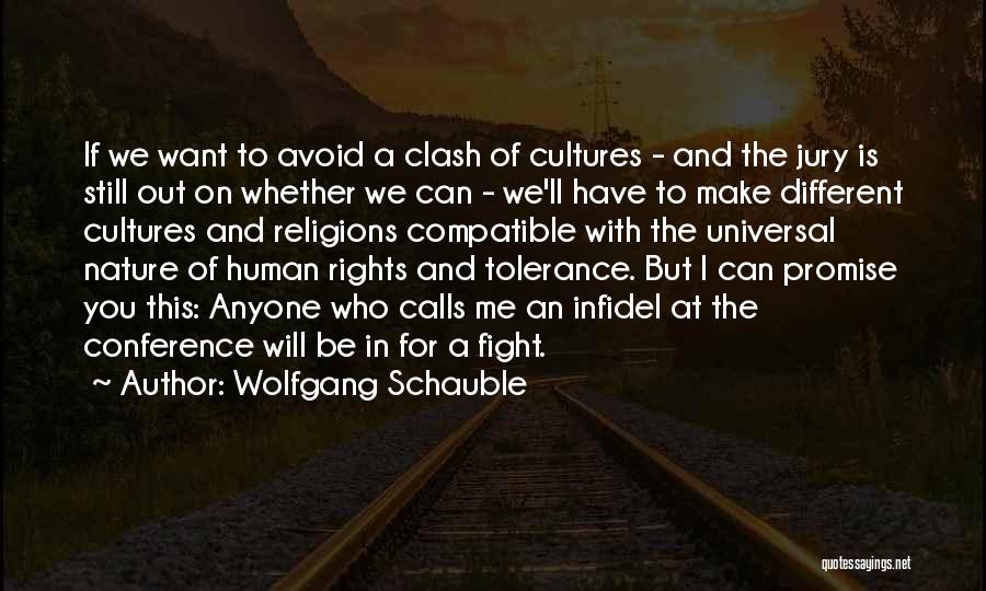 Fighting For Rights Quotes By Wolfgang Schauble