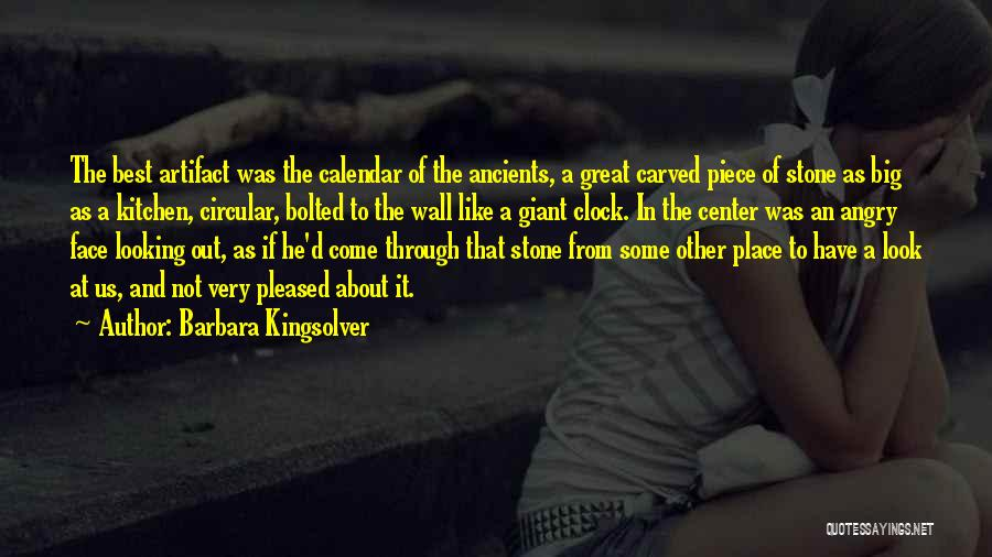 Figurative Quotes By Barbara Kingsolver