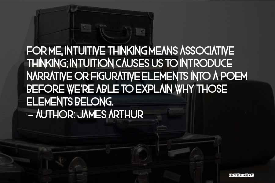 Figurative Quotes By James Arthur