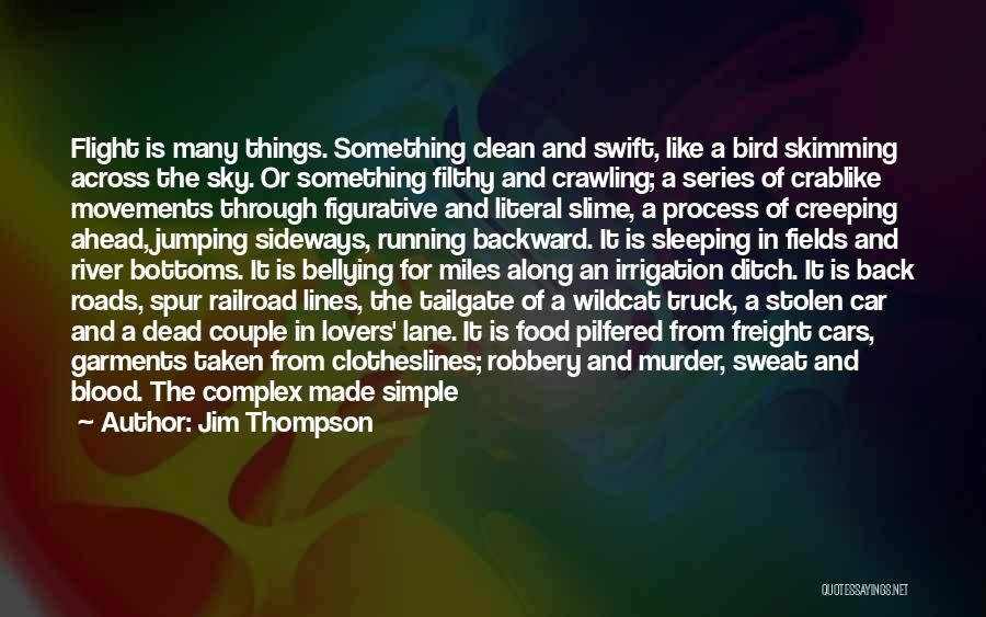 Figurative Quotes By Jim Thompson