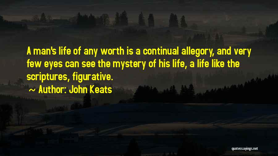 Figurative Quotes By John Keats
