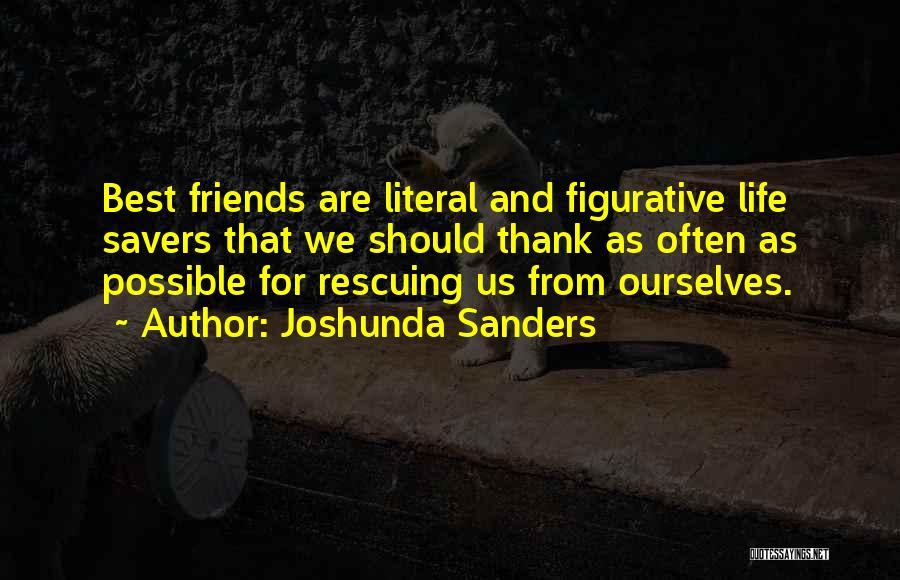 Figurative Quotes By Joshunda Sanders