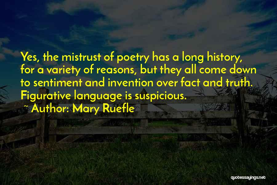 Figurative Quotes By Mary Ruefle