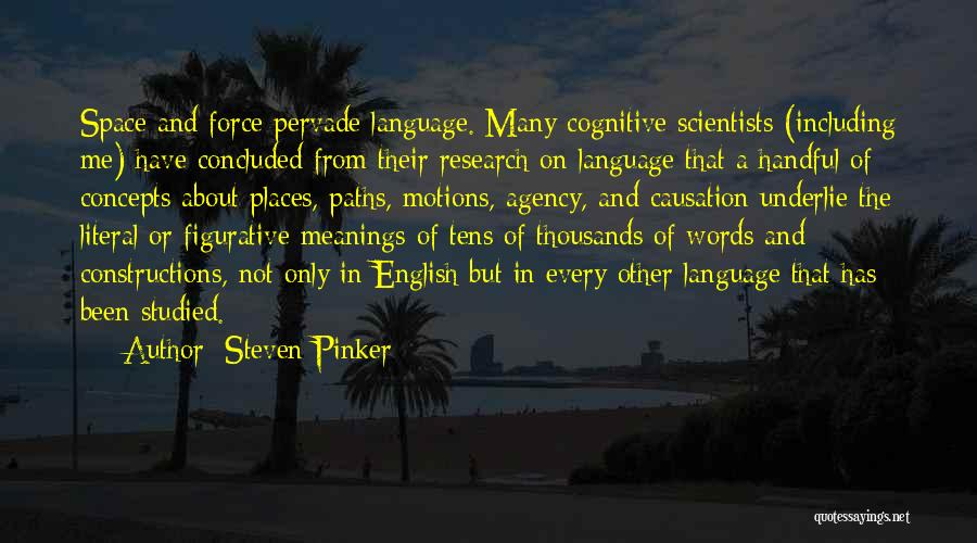 Figurative Quotes By Steven Pinker