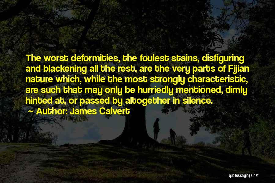 Fijian Quotes By James Calvert