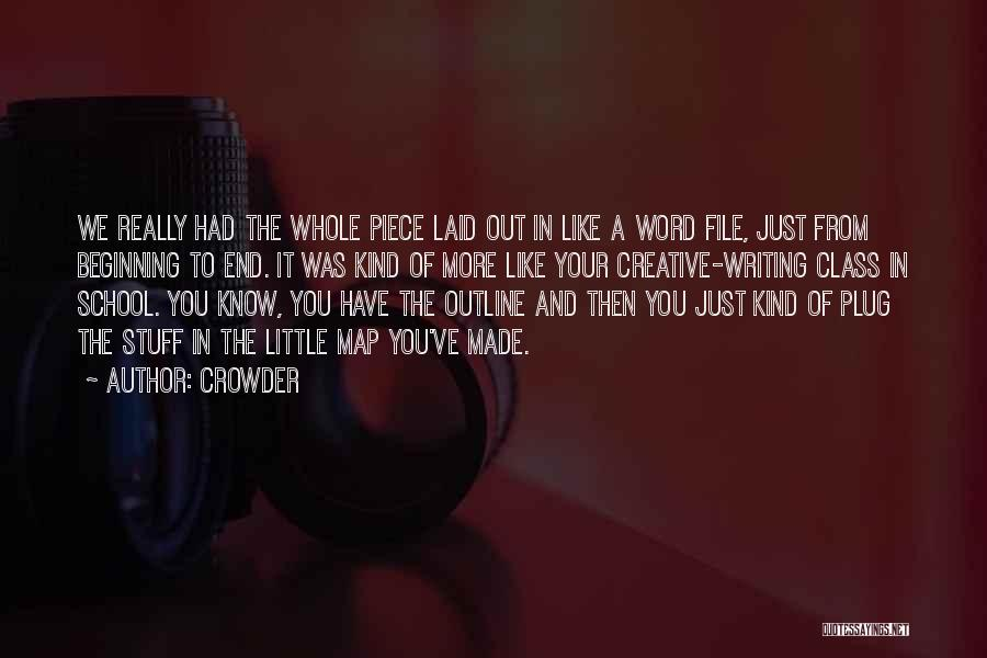 File Quotes By Crowder