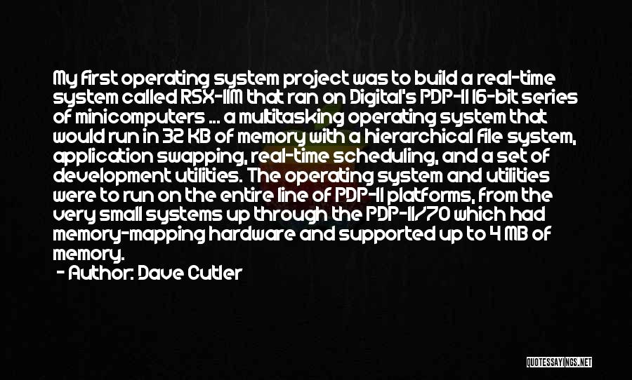 File Quotes By Dave Cutler
