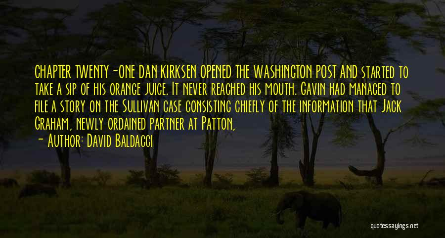 File Quotes By David Baldacci