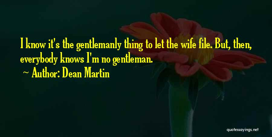 File Quotes By Dean Martin