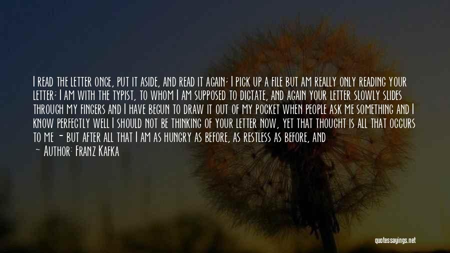 File Quotes By Franz Kafka