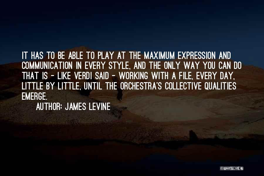 File Quotes By James Levine