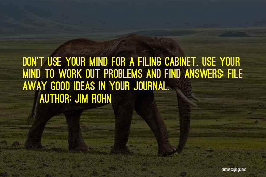File Quotes By Jim Rohn
