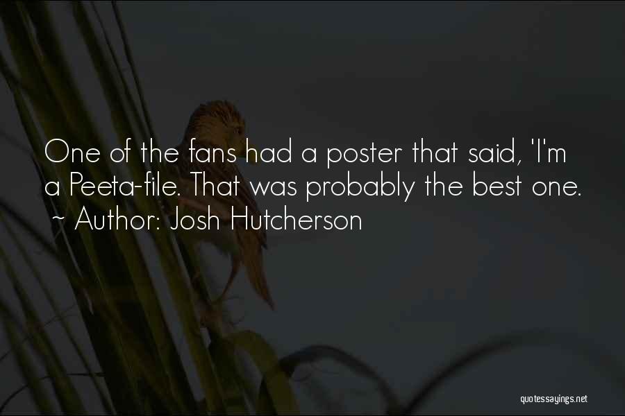 File Quotes By Josh Hutcherson