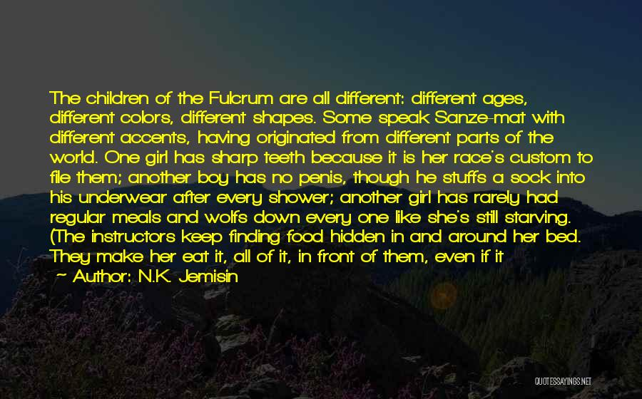 File Quotes By N.K. Jemisin