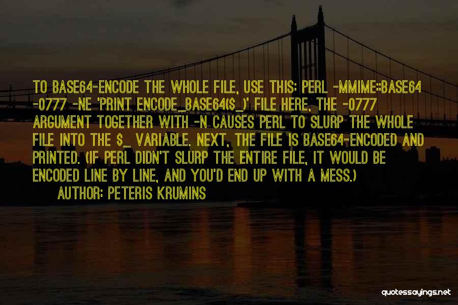 File Quotes By Peteris Krumins