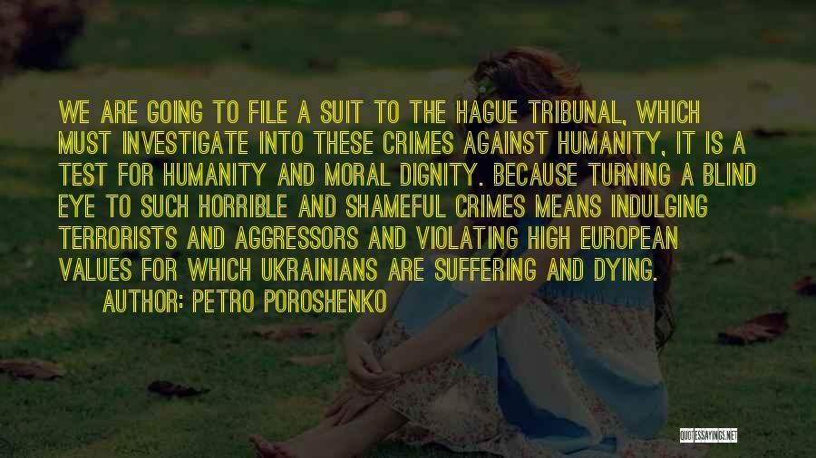 File Quotes By Petro Poroshenko