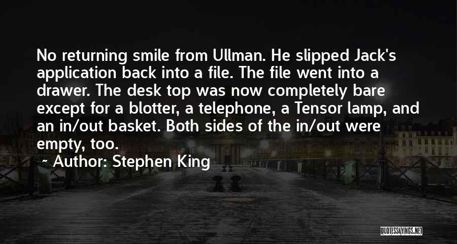 File Quotes By Stephen King