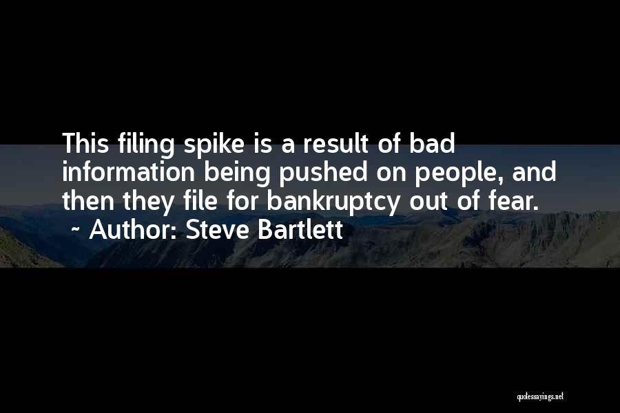 File Quotes By Steve Bartlett