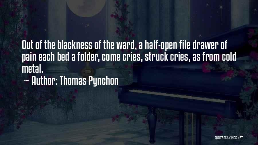 File Quotes By Thomas Pynchon