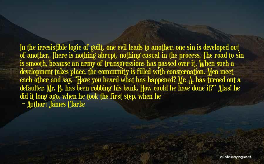 Filled With Guilt Quotes By James Clarke