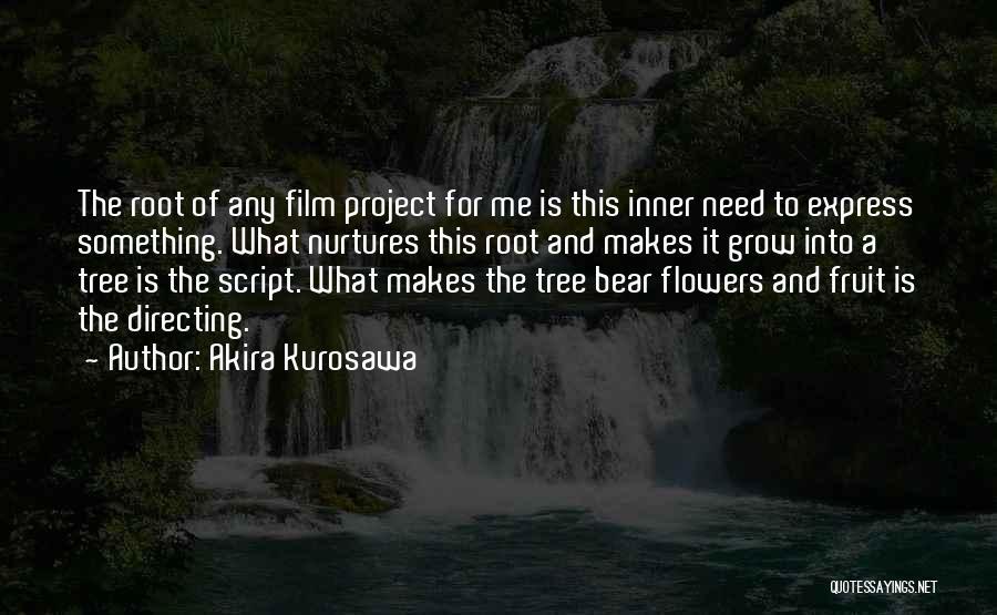 Film Directing Quotes By Akira Kurosawa