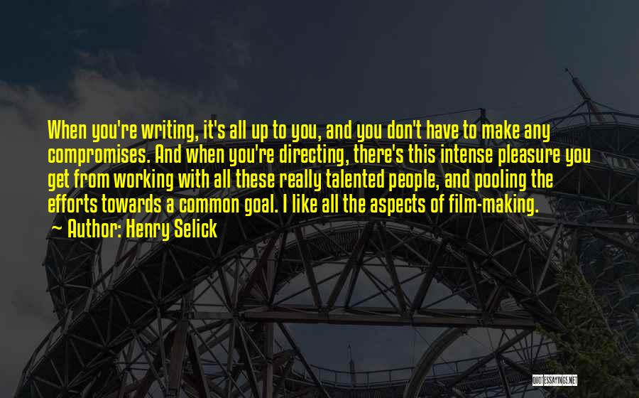 Film Directing Quotes By Henry Selick