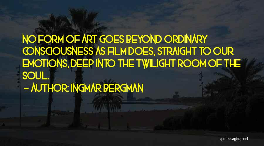 Film Directing Quotes By Ingmar Bergman