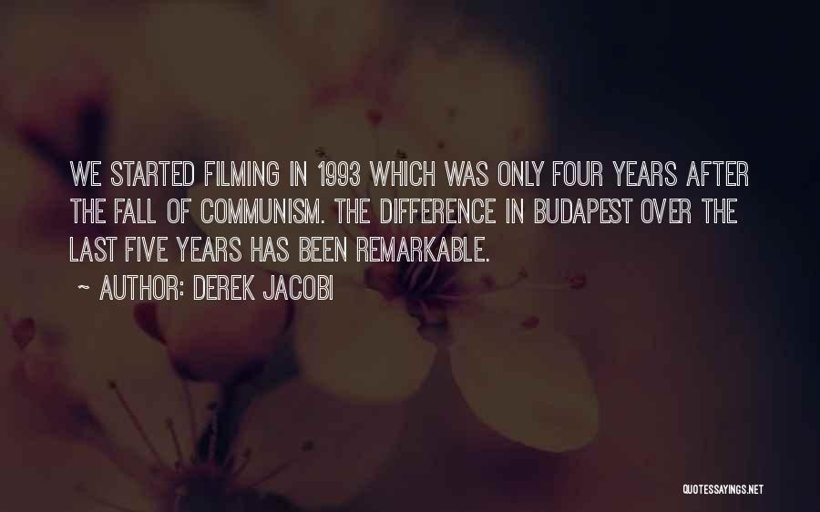 Filming Quotes By Derek Jacobi