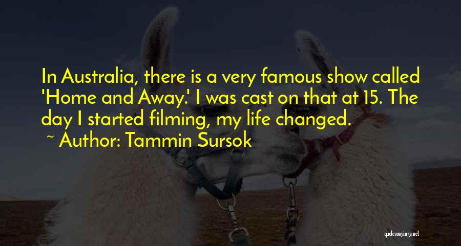 Filming Quotes By Tammin Sursok