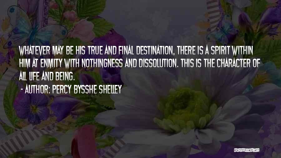 Final Destination 3 Quotes By Percy Bysshe Shelley