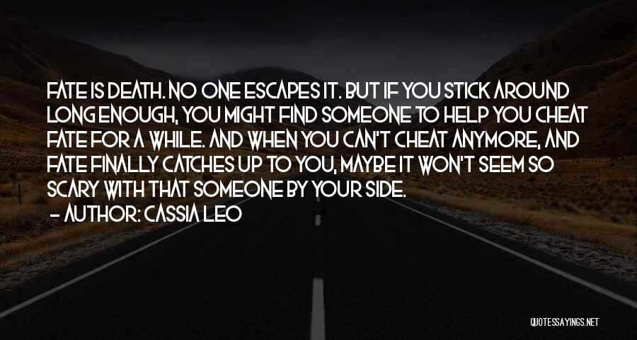 Finally Find You Quotes By Cassia Leo