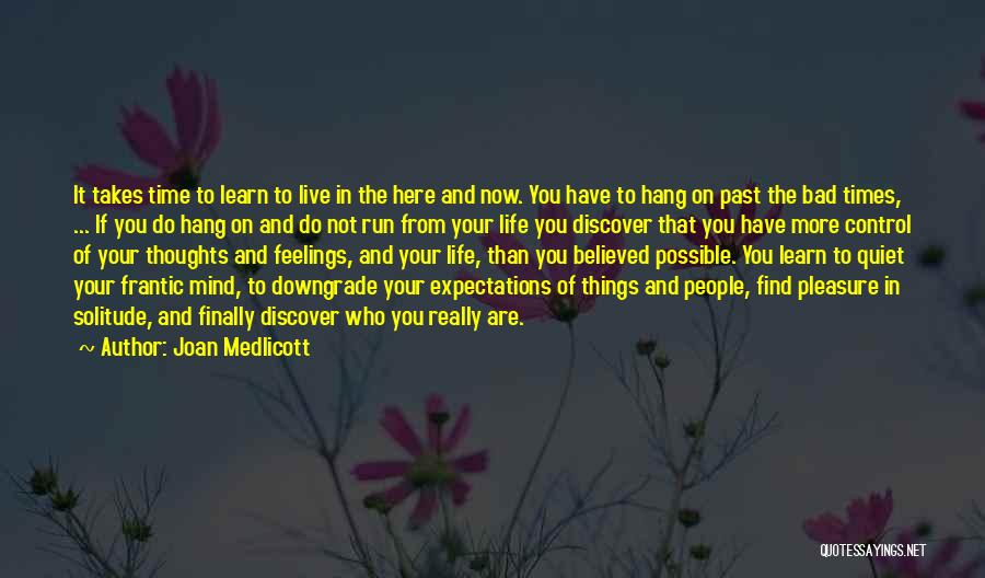 Finally Find You Quotes By Joan Medlicott