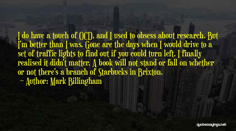 Finally Find You Quotes By Mark Billingham